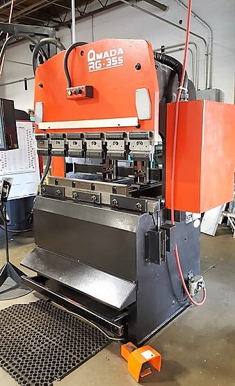 AMADA-RG35S-38.5-Ton-CNC-Hydraulic-Upacting-Press-Brake
