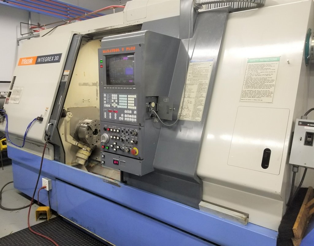 MAZAK-Integrex-30Y-1500-CNC-Turning-Milling-Center