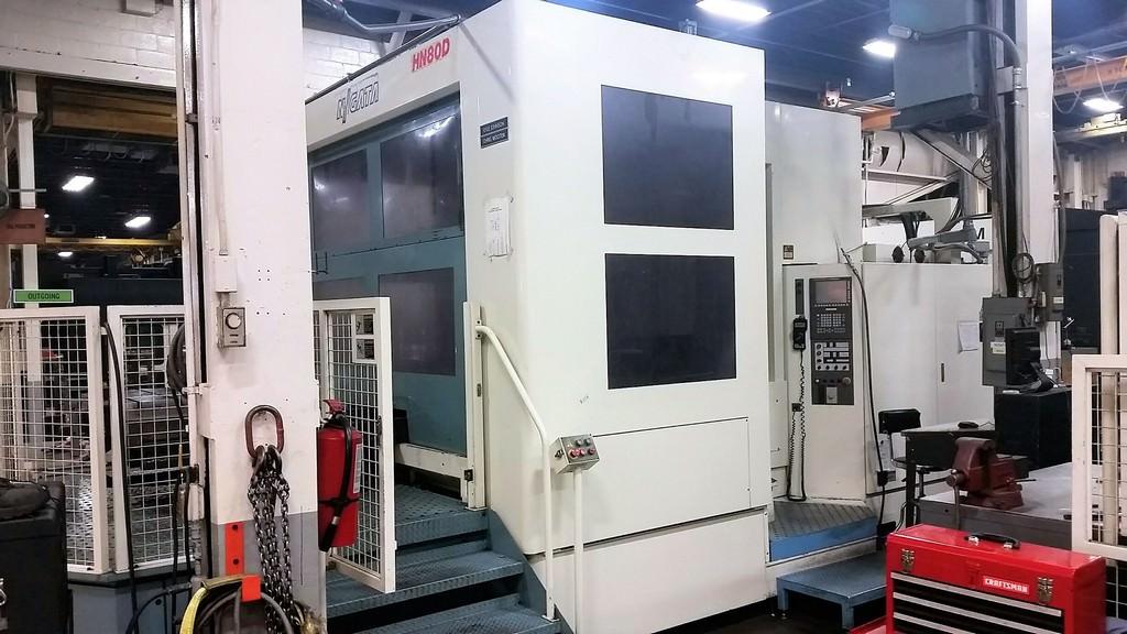 NIIGATA-HN80D-4-Axis-CNC-Horizontal-Machining-Center