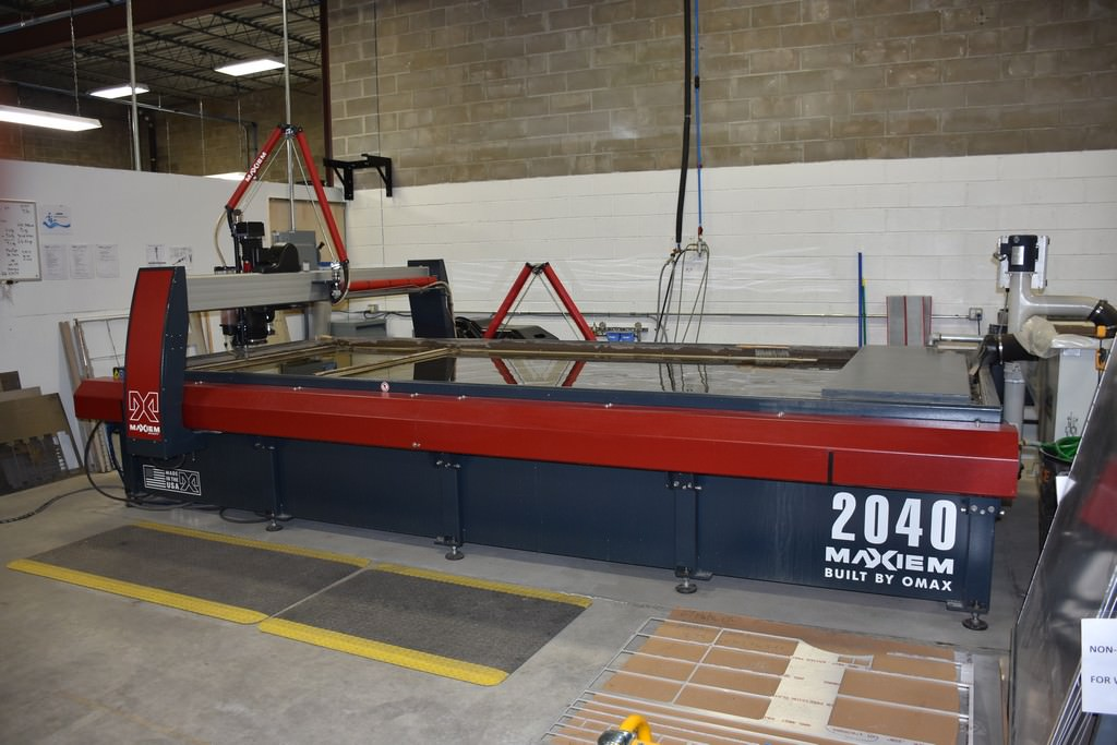 Maxiem-(Omax)-2040-CNC-Abrasive-Water-Jet-Cutting-System