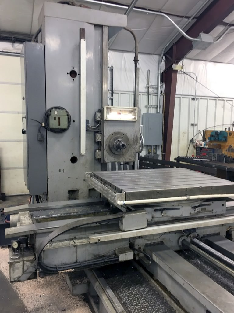 Kuraki-KBT-1003W-4-Table-Type-Horizontal-Boring-Mill