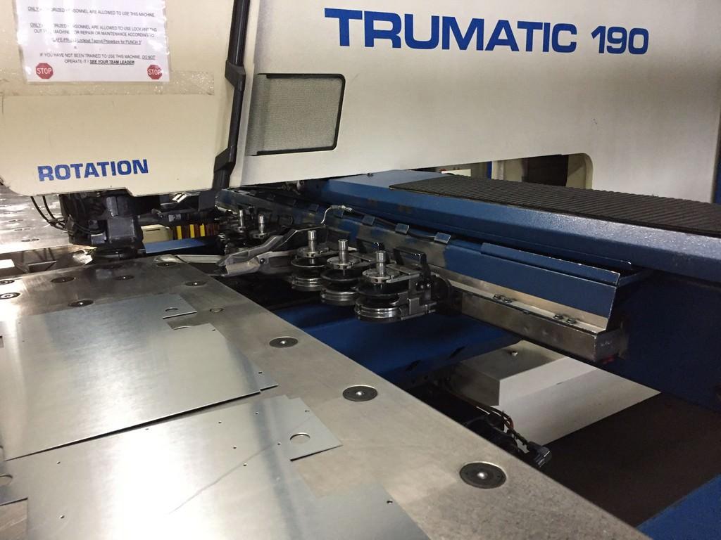 Trumpf-17-Ton-TC-190-CNC-Punch-And-Contour-Machine