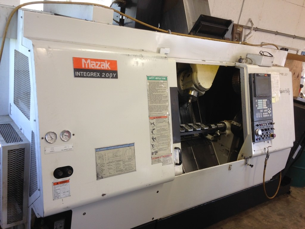 MAZAK-Integrex-200Y-Multi-Axis-CNC-Turning-&-Milling-Center