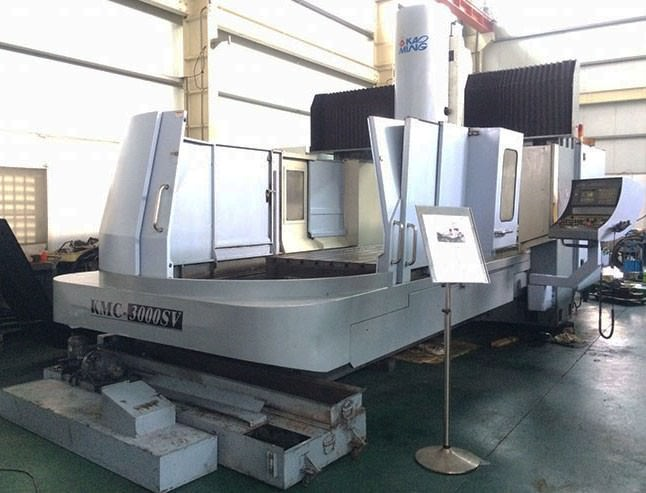 Kao-Ming-KMC-3000-SV-3-Axis-Double-Column-Vertical-Machining-Center