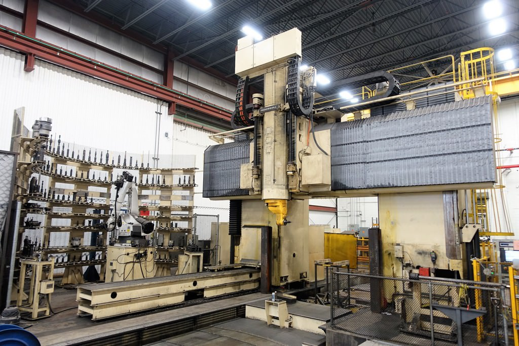 Ingersoll-Double-Column-5-Axis-CNC-Bridge-Mill