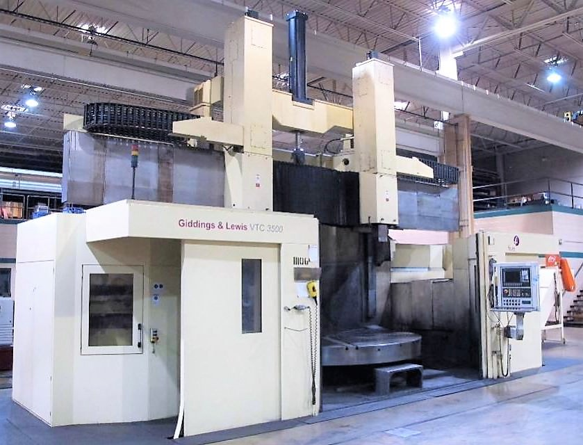 137-Giddings-&-Lewis-CNC-Vertical-Turning-Center