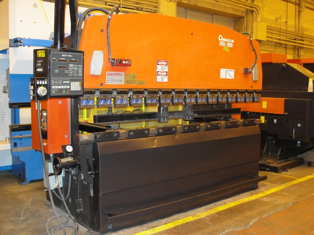 AMADA-RG-100-110-Ton-x-10-3-Axis-CNC-Up-Acting-Hydraulic-Press-Brake