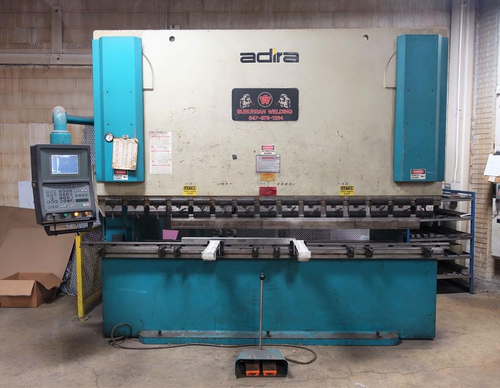 Adira-QHD-15030-165-Ton-2-Axis-CNC-Hydraulic-Press-Brake