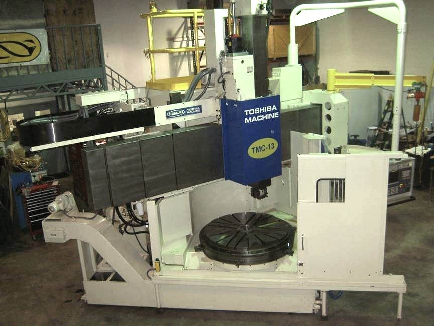 TOSHIBA-49-CNC-Vertical-Boring-Mill-w-Live-Spindle