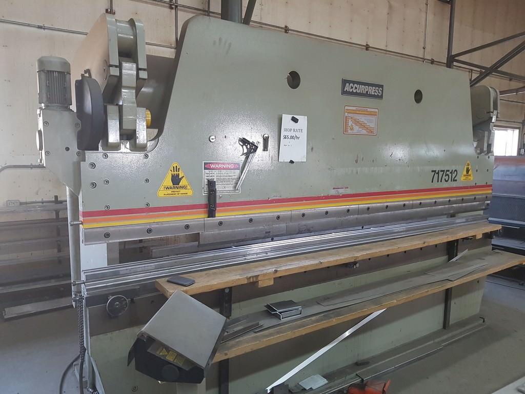 Accurpress-175-Ton-CNC-Hydraulic-Press-Brake