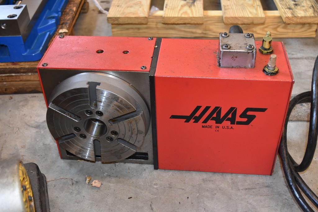HAAS-TRT-210-4th-Axis-Rotary-Table