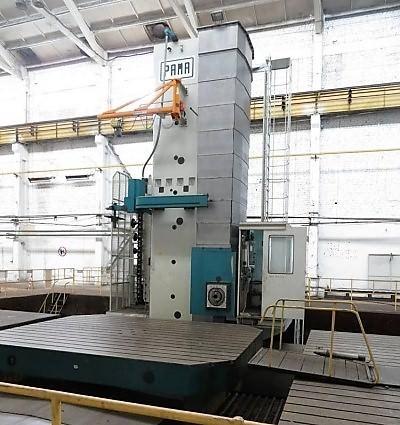 Pama-SpeedRam-4000-10.2-CNC-Floor-Type-Horizontal-Boring-Mill