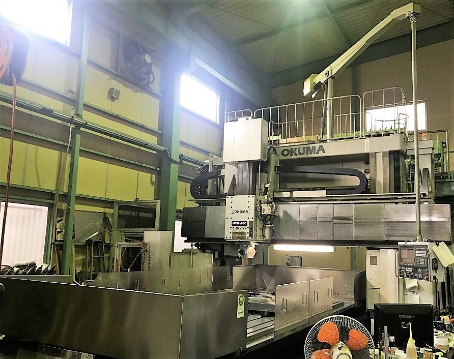 Okuma-MCR-A5C-25X40-5-Face-CNC-Double-Column-Vertical-Machining-Center