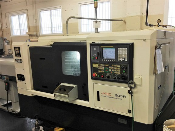 Hwacheon-Hi-Tec-200A-CNC-Turning-and-Milling-Center