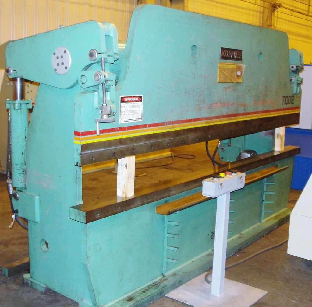 Accurpress-710012-100-Ton-x-12-Hydraulic-Press-Brake