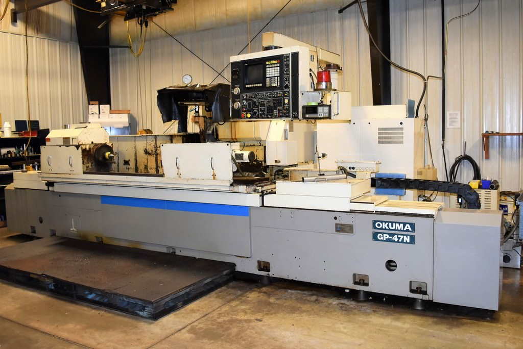Okuma-GP-47N-CNC-Long-Bed-OD-Cylindrical-Grinder