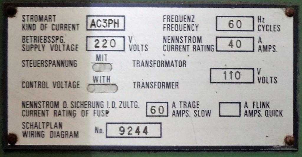 109 mm Sacem MST XC 110 Table Type Horizontal Boring Mill - Boring ...