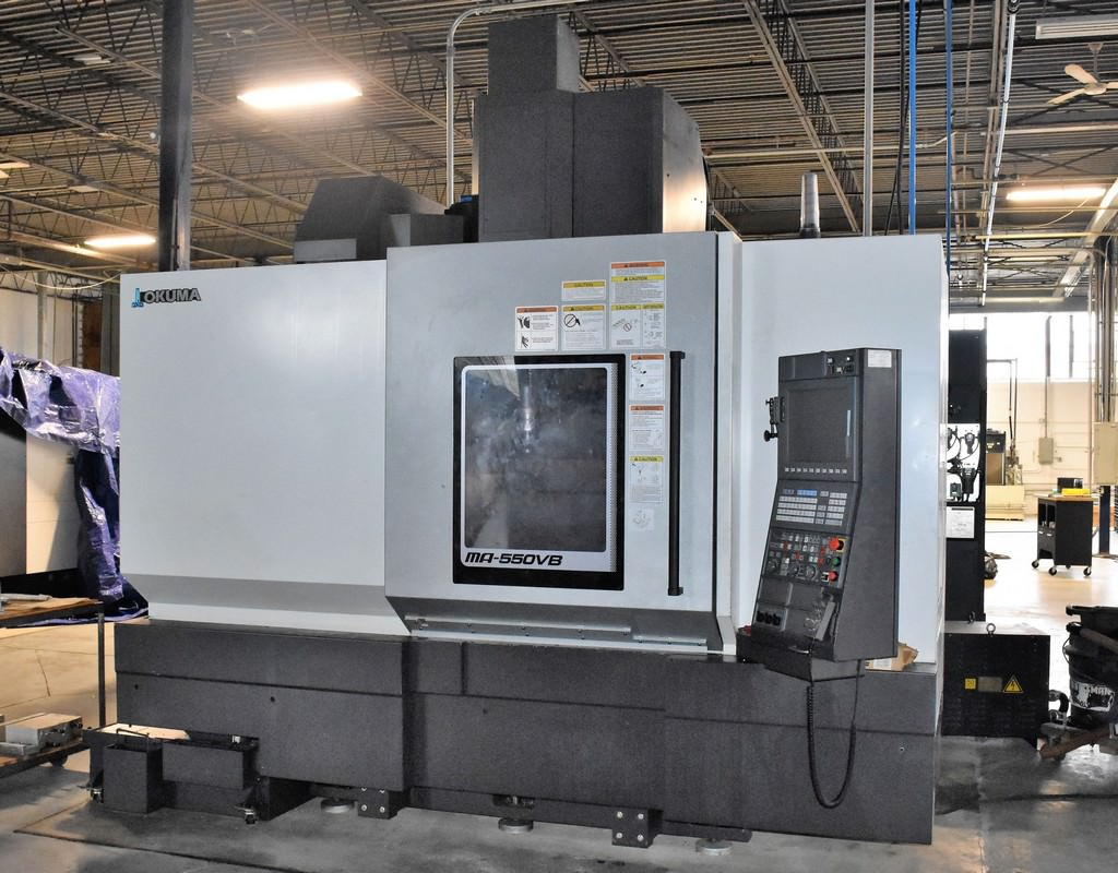 Okuma-MA-550VB-CNC-Vertical-Machining-Center