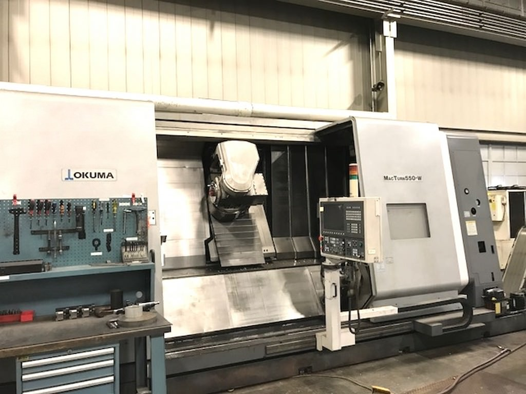 Okuma-MacTurn-550-Multi-Axis-CNC-Turning-&-Milling-Center