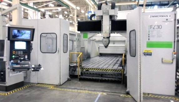 Zimmermann-FZ-30-5-Axis-CNC-Gantry-Portal-Milling-Machine