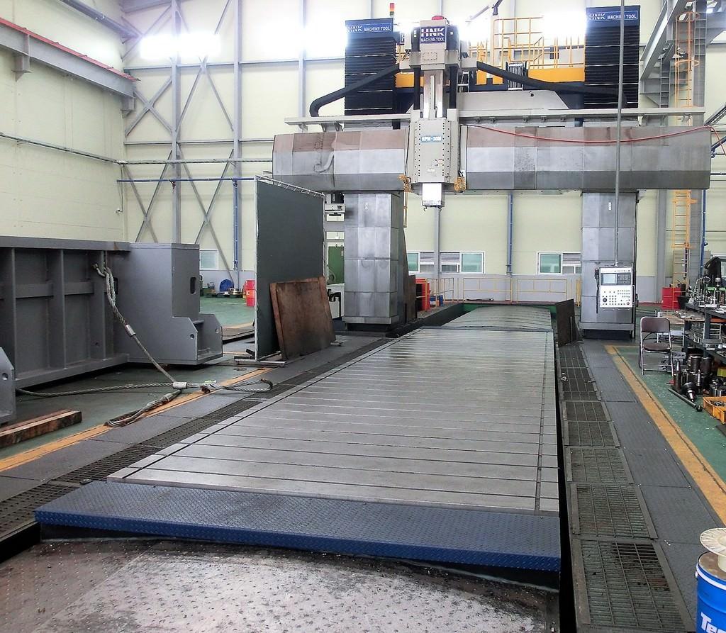 HNK-HPM-30M-CNC-Double-Column-5-Face-Machining-Center