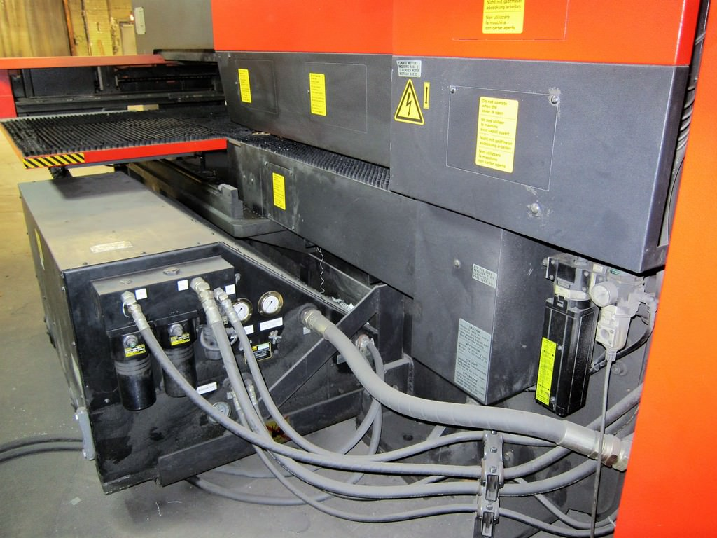 AMADA Vipros 255 22 Ton Hydraulic CNC Turret Punch Press - Punches ...