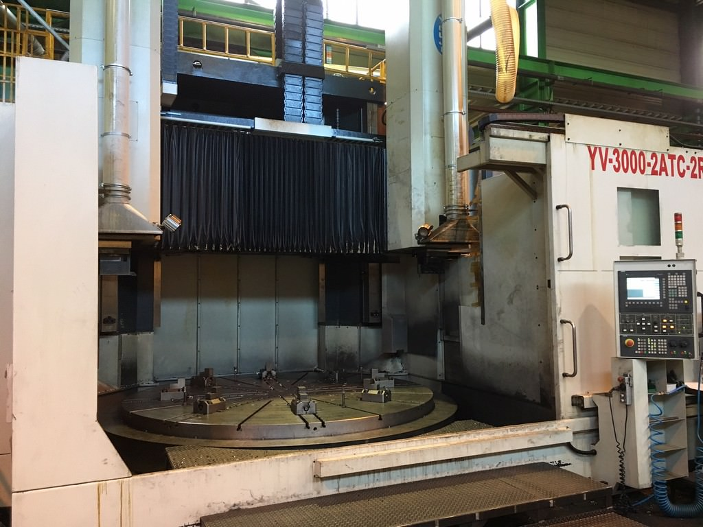 118-YOU-JI-3000-2ATVC-2R-Dual-Column-CNC-Vertical-Boring-Mill