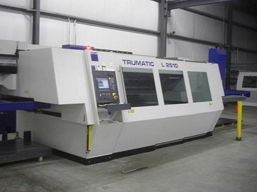 2000-Watt-Trumpf-L2510XL-CNC-Flying-Optic-Laser-w-Load-Unload