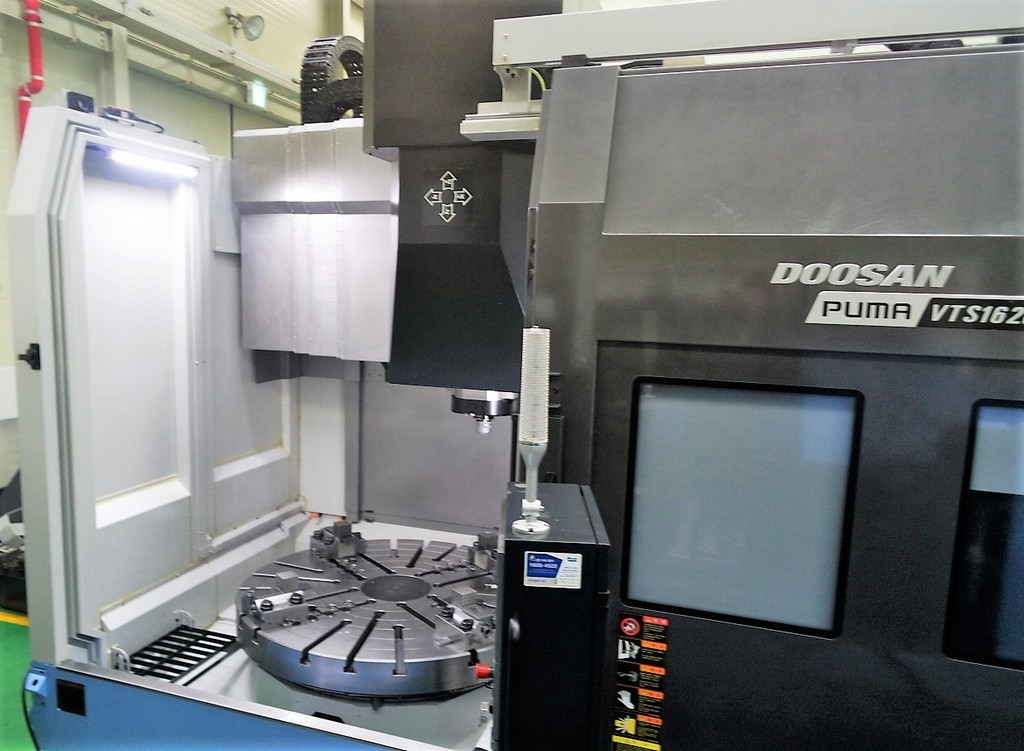 Doosan-Puma-VTS-1620-CNC-Vertical-Turning-Center