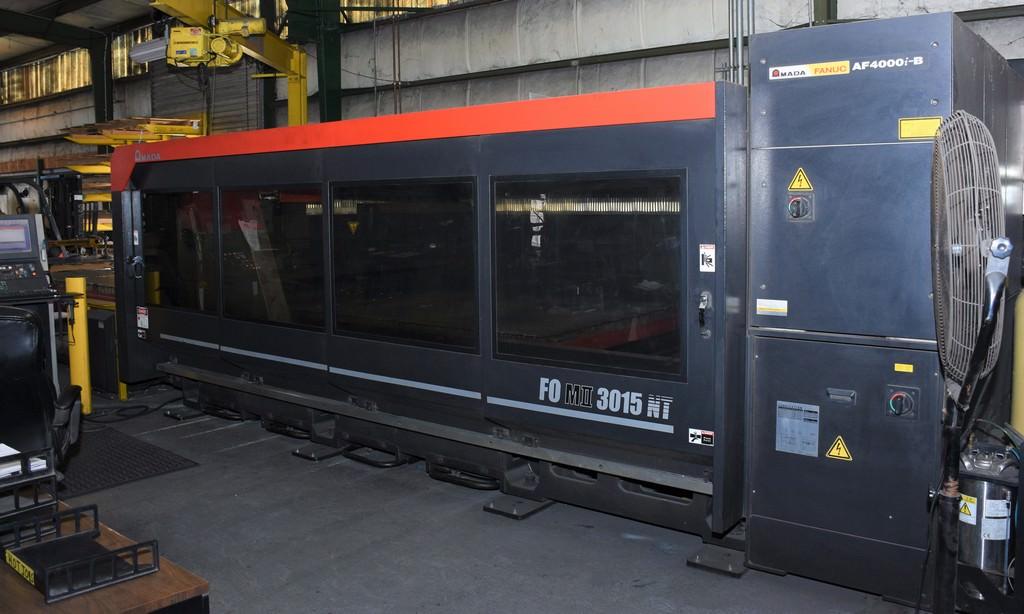 AMADA-FOMII-3015NT-4000-Watt-CNC-Laser