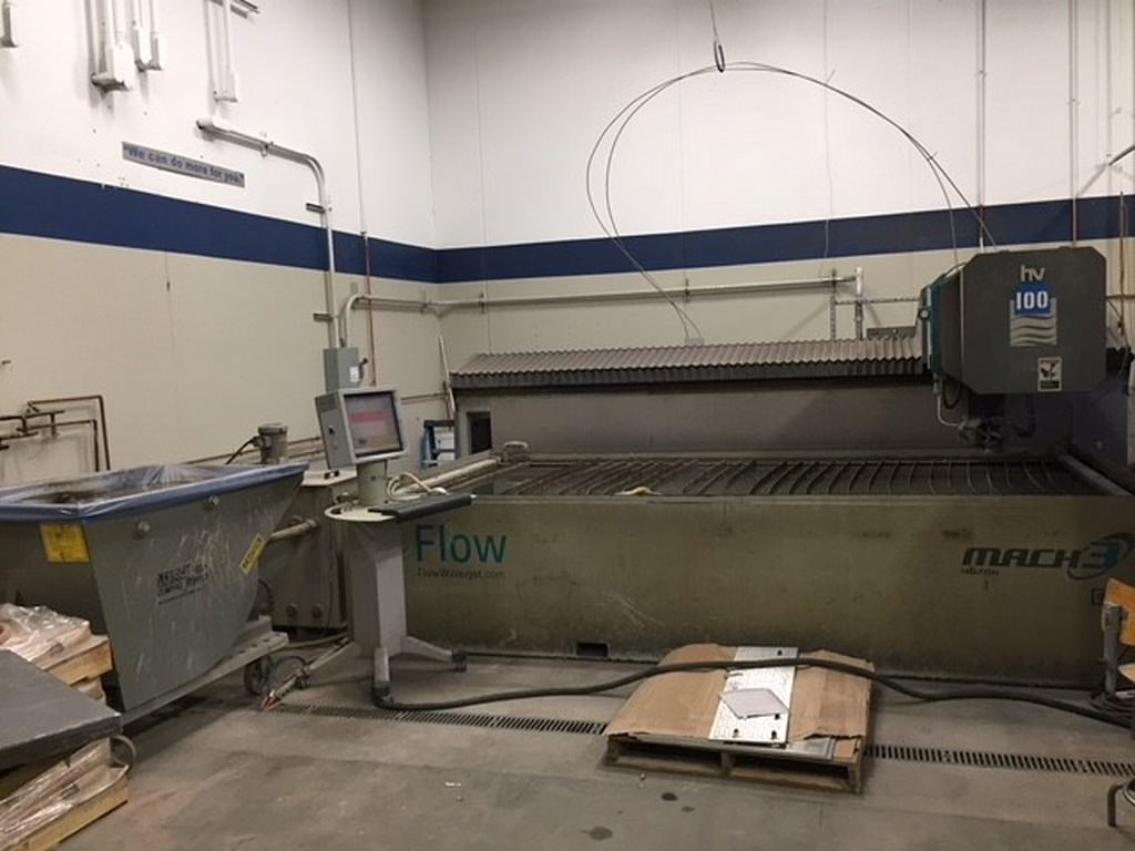 Flow-Mach-3-4020b-6-x-13-CNC-Water-Jet-Cutting-System