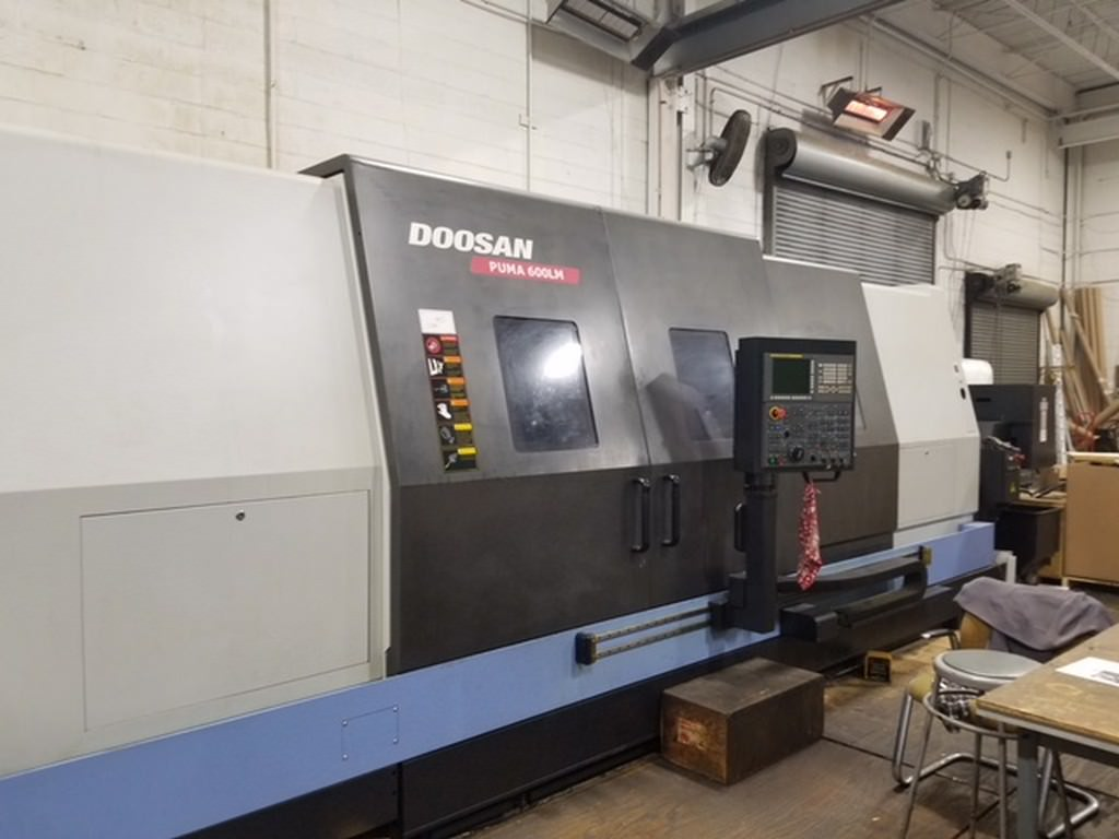 DOOSAN-Puma-600LM-CNC-Turning-Center