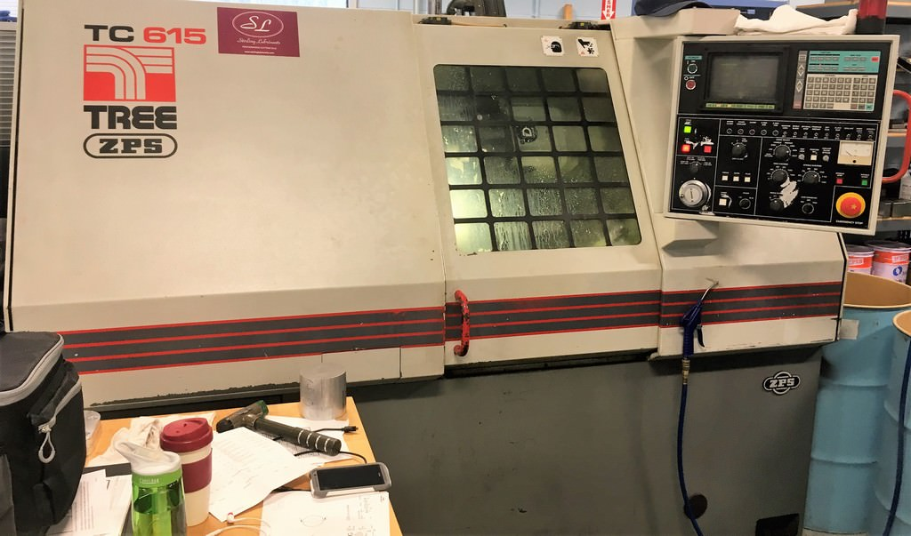 Tree-TC-615-Slant-Bed-CNC-Lathe