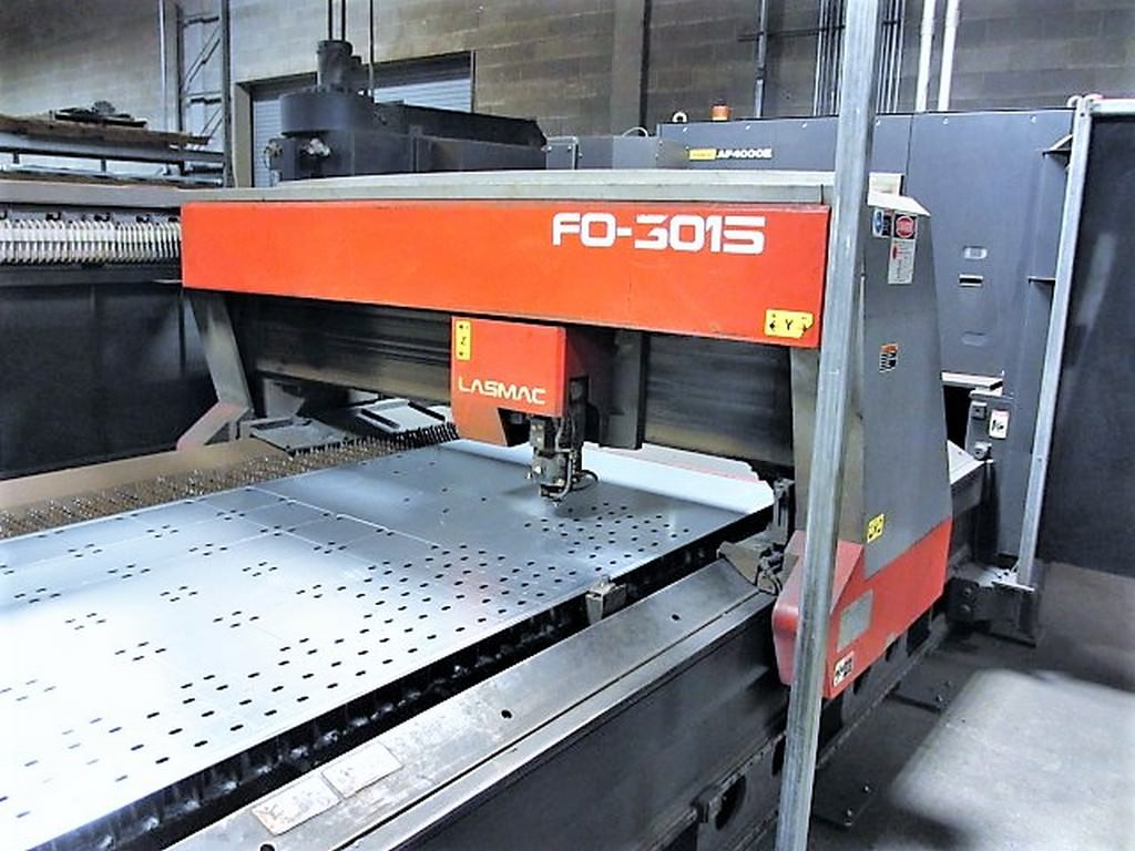 AMADA-FO-3015-4000-Watt-Flying-Optic-C02-CNC-Laser