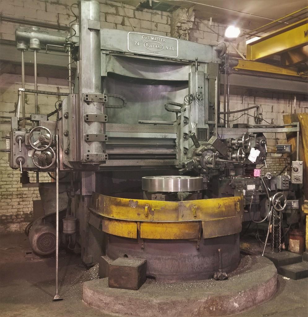 Bullard-74-Cut-Master-Vertical-Boring-Mill