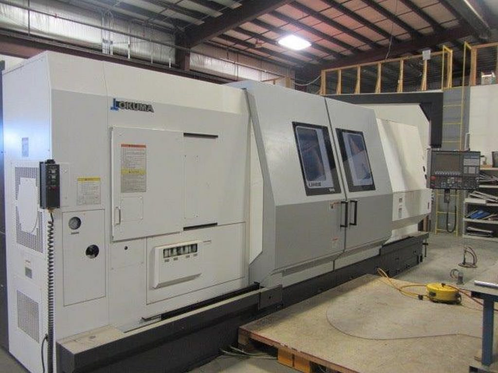 OKUMA-LB-45IIIC-2000-Large-Capacity-CNC-Lathe