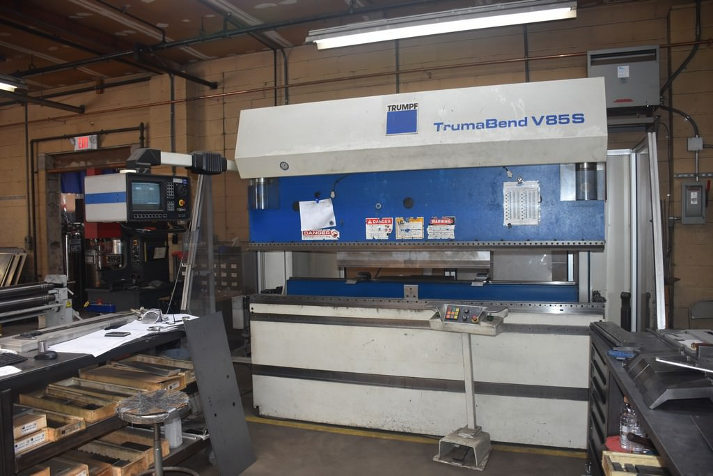 Trumpf-95-Ton-V85S-8-Axis-CNC-Hydraulic-Press-Brake
