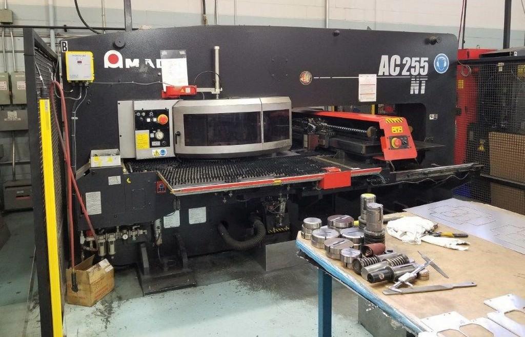 AMADA-AC-255NT-22-Ton-CNC-Servo-Electro-Turret-Punch