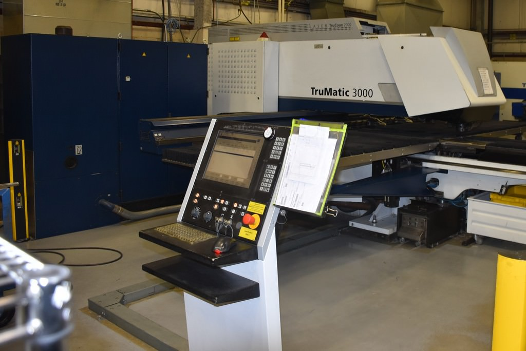 Trumpf-TruMatic-3000-20-Ton-Punch-Laser-Combo-With-2KW-Laser