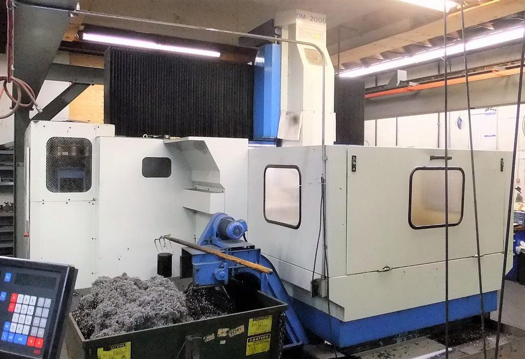 Eumach DM-2000 CNC Vertical Machining Center - Machining