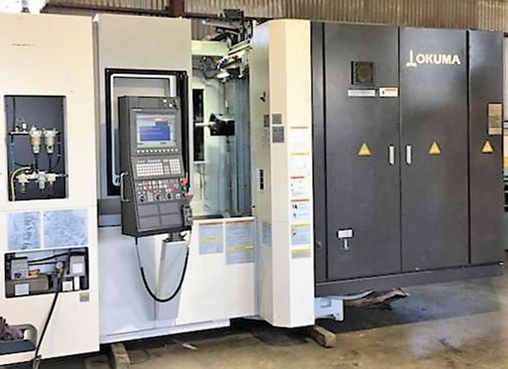 Okuma-MB-4000H-4-Axis-CNC-Horizontal-Machining-Center