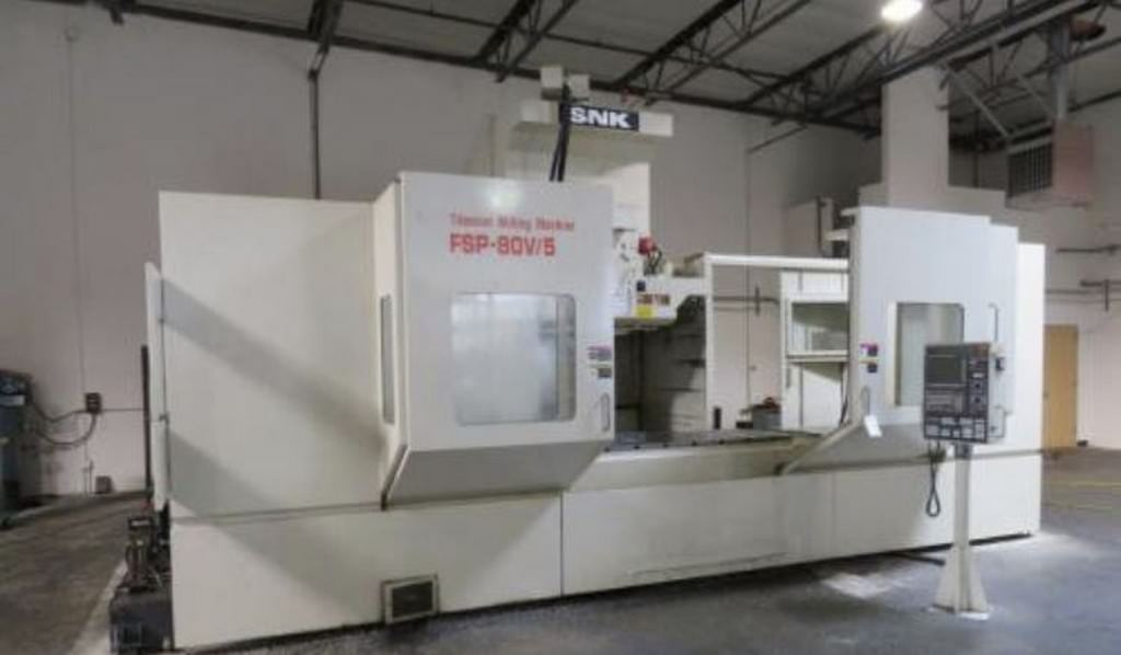 SNK-FSP-80V-5-Axis-CNC-Vertical-Machining-Center