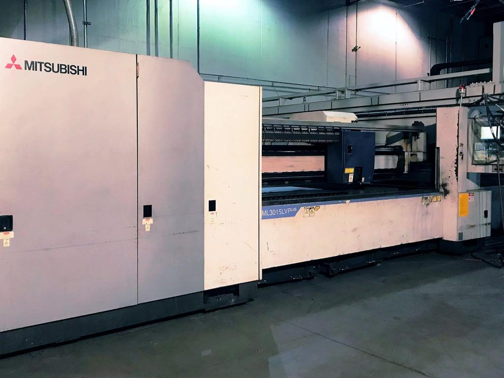 Mitsubishi-ML-3015-LVP-Plus-4000-Watt-CNC-Laser