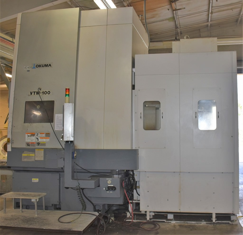 40-Okuma-3-Axis-CNC-Vertical-Turning-Center-With-Live-Milling