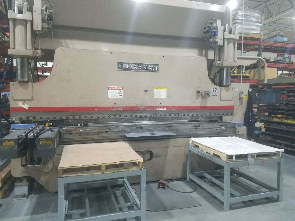 Cincinnati-175AF-Autoform-CNC-Hydraulic-Press-Brake