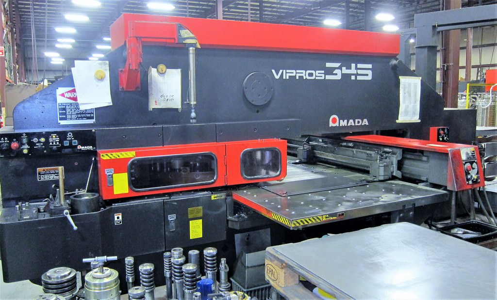 Amada-Vipros-345-33-Ton-CNC-Turret-Punch-Press