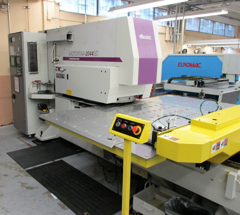Wiedemann-Motorum-2044EZ-22-Ton-Electric-Servo-Turret-Punch-Press