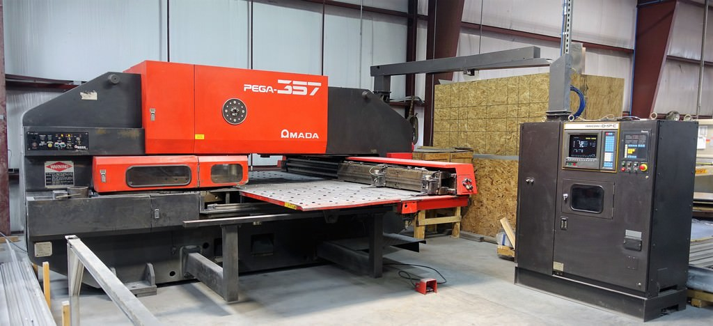 Amada-Pega-357-33-Ton-CNC-Turret-Punch-Press