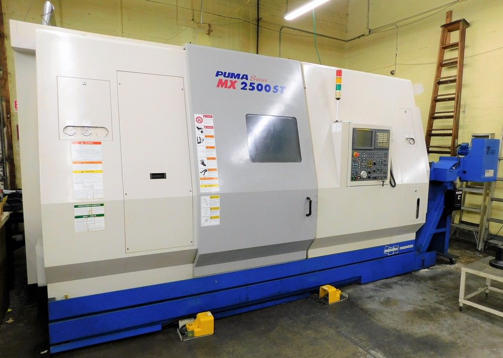 DAEWOO-Puma-MX2500ST-Multi-Axis-CNC-Turning-Center