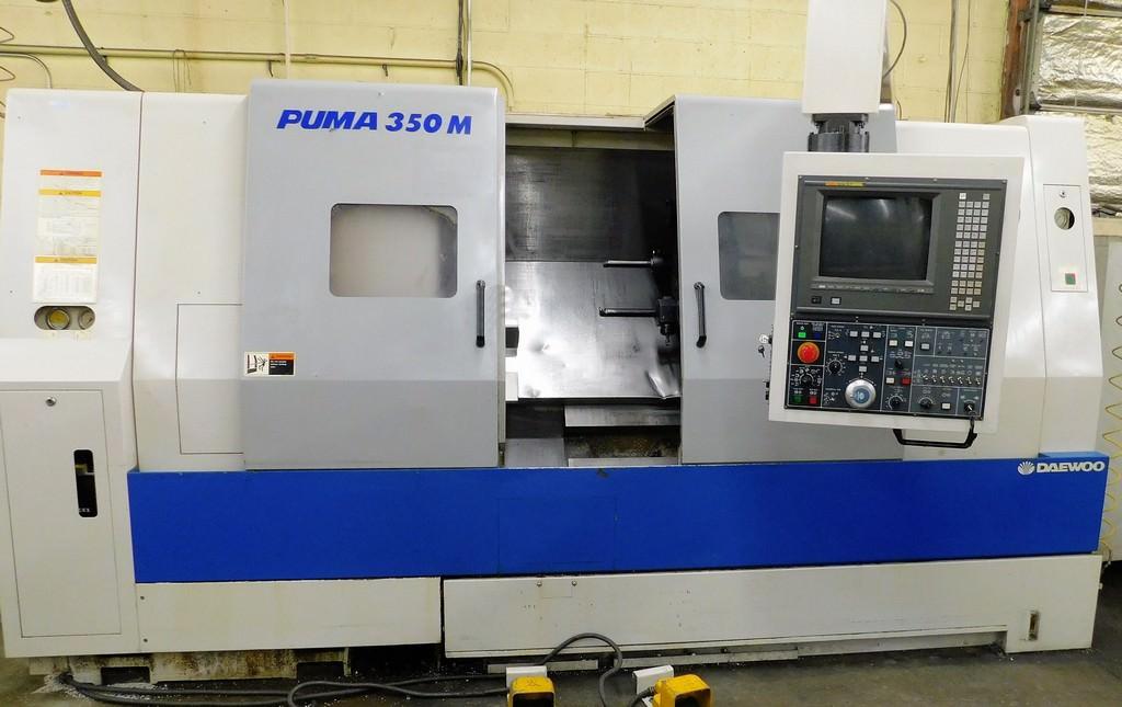 DAEWOO-Puma-350MA-CNC-Slant-Bed-Turning-Center